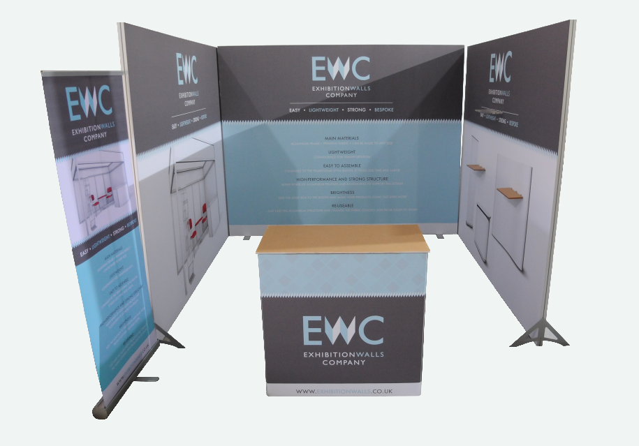 Exhibition Stands - easy, lightweight, strong, bespoke
