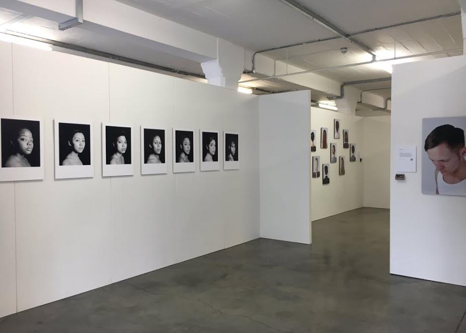 Exhibition walls for the Free Range Show at the Old Truman Brewery
