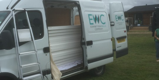 exhibition walling hire