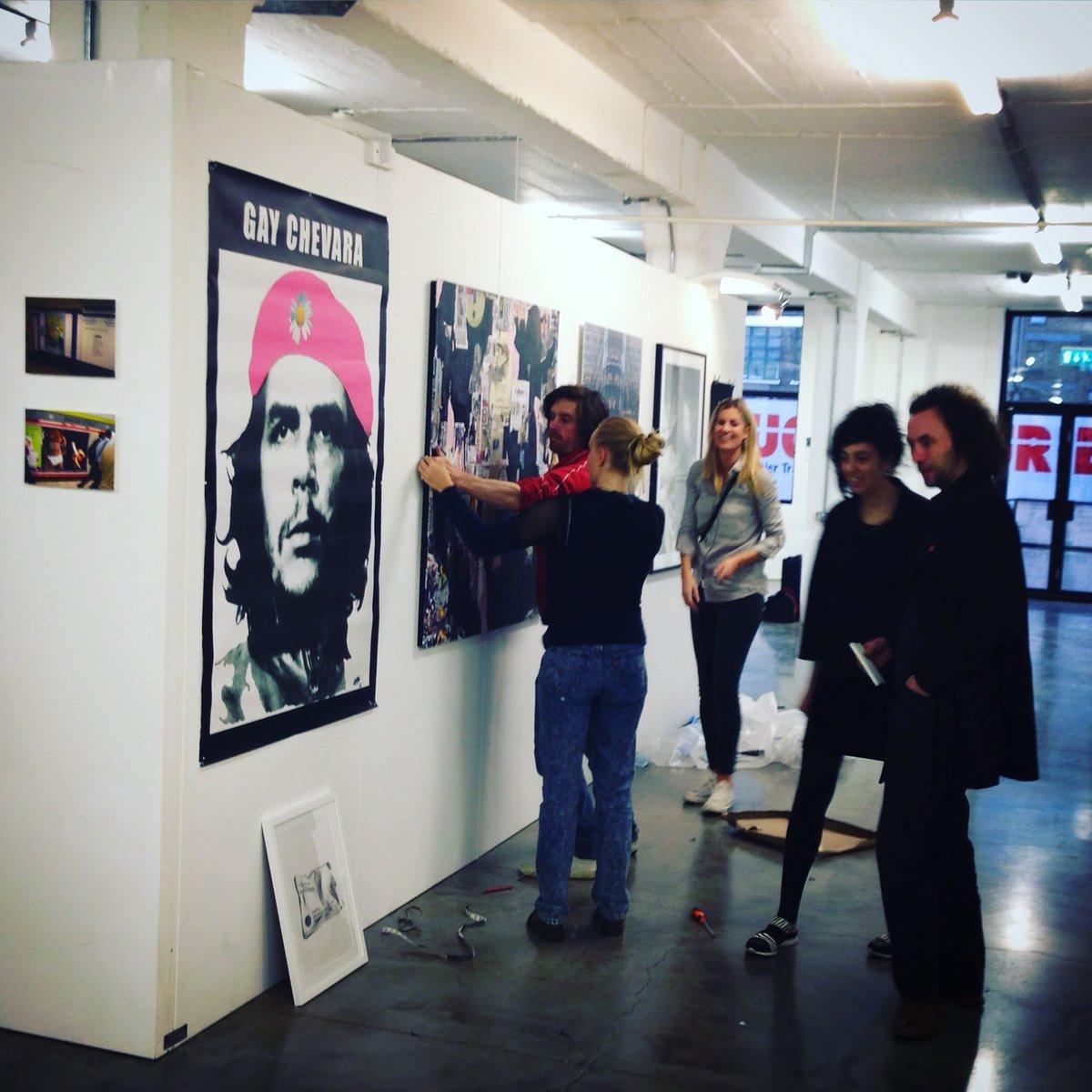 art display walling