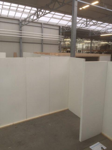 DoubleH temporary walling