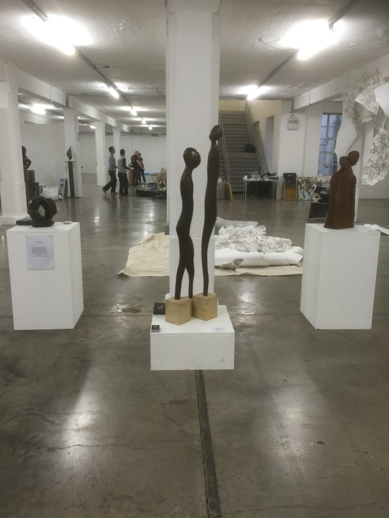 art gallery plinths