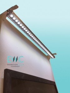 lighting options for exhibition walls