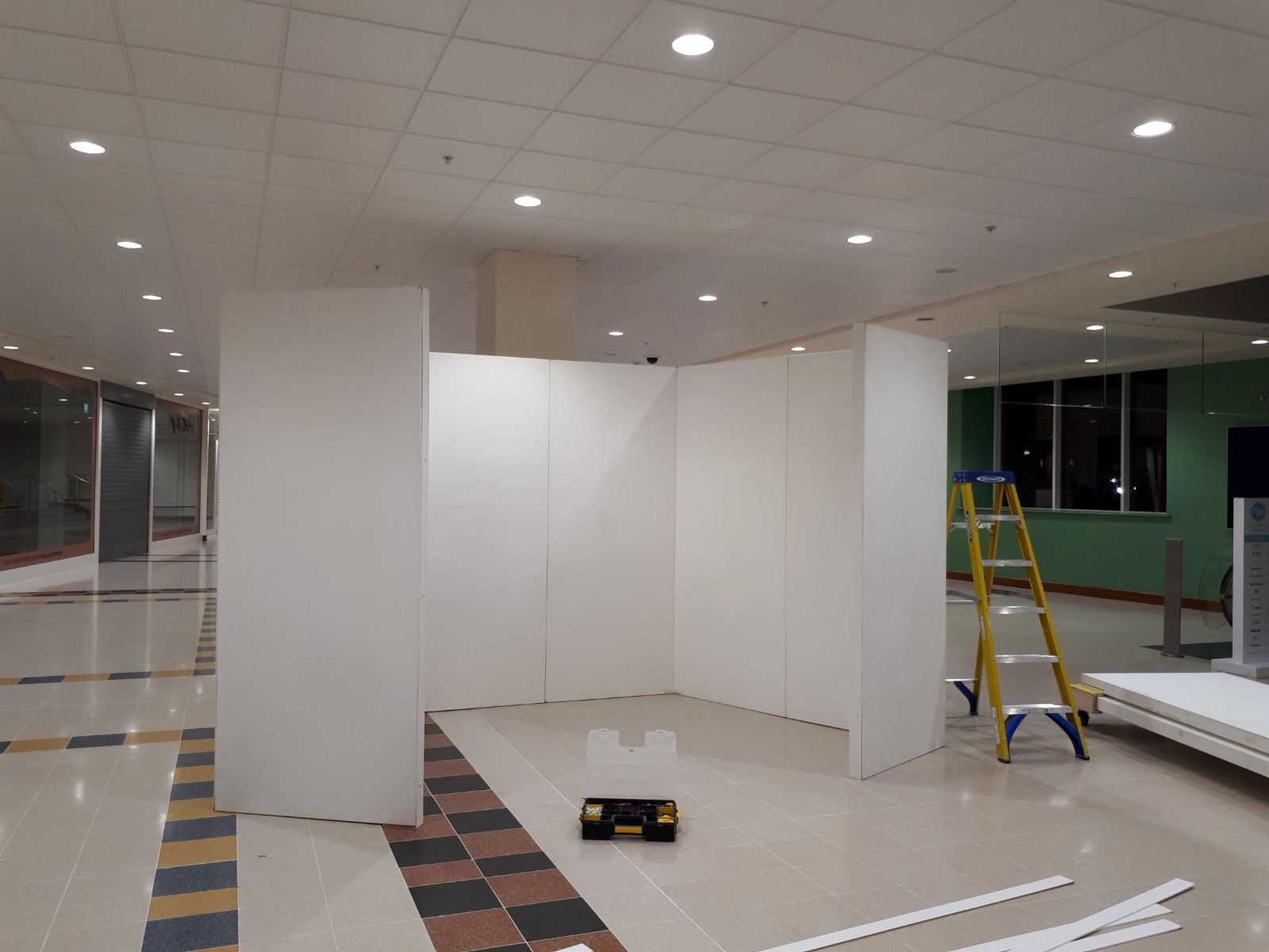 any shape exhibition walling hire