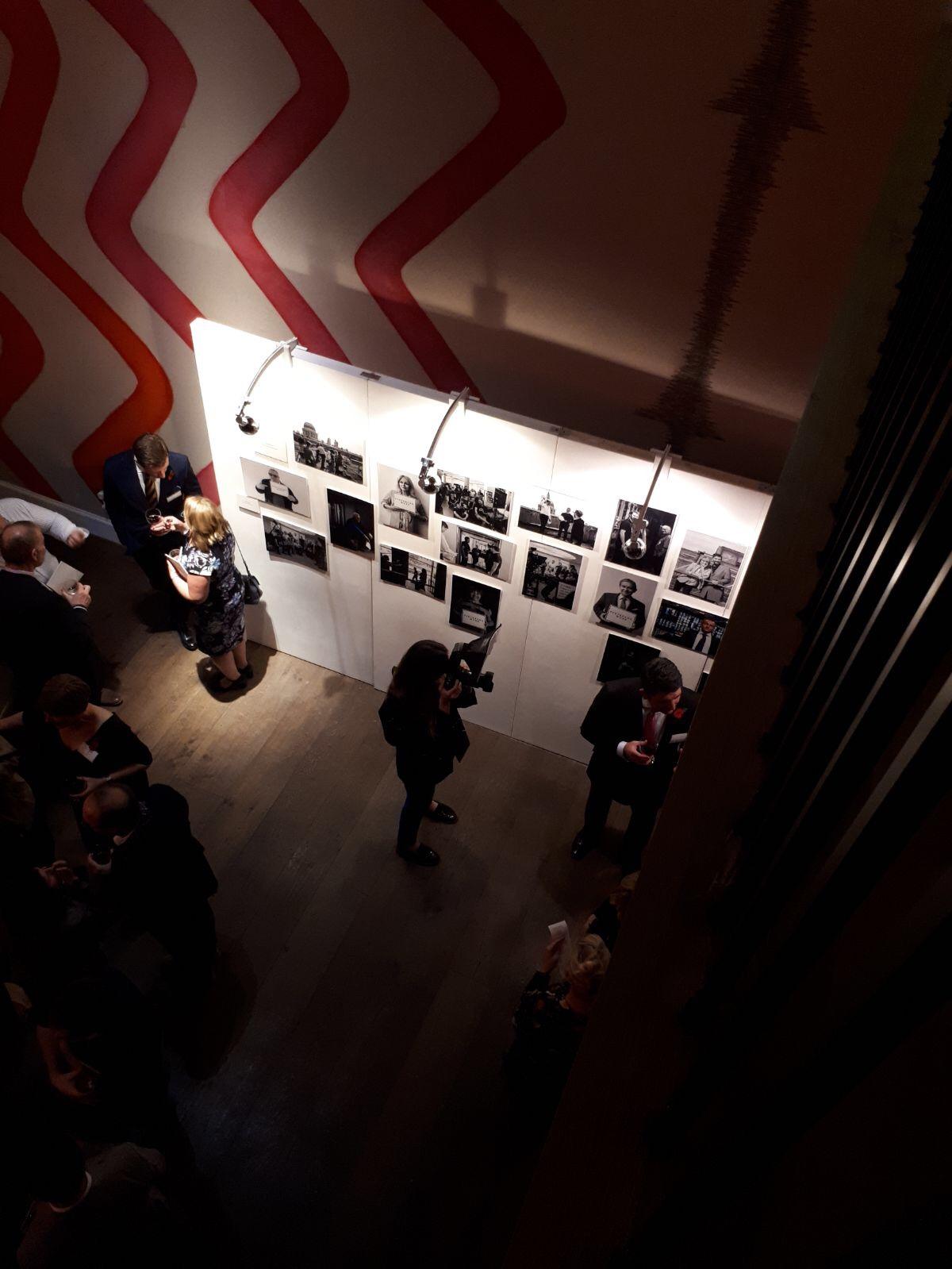 art gallery stands